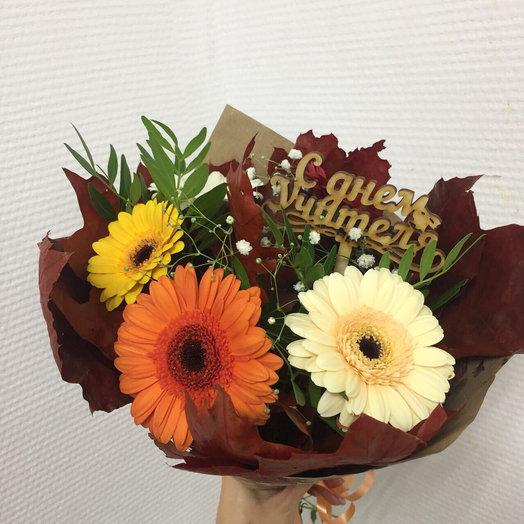 Дорогому учителю 2: букеты цветов на заказ Flowwow