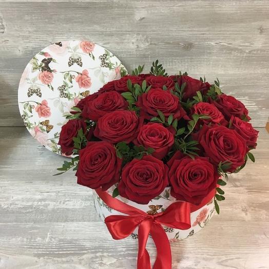 """Букет роз """"Чувства"""": букеты цветов на заказ Flowwow"""