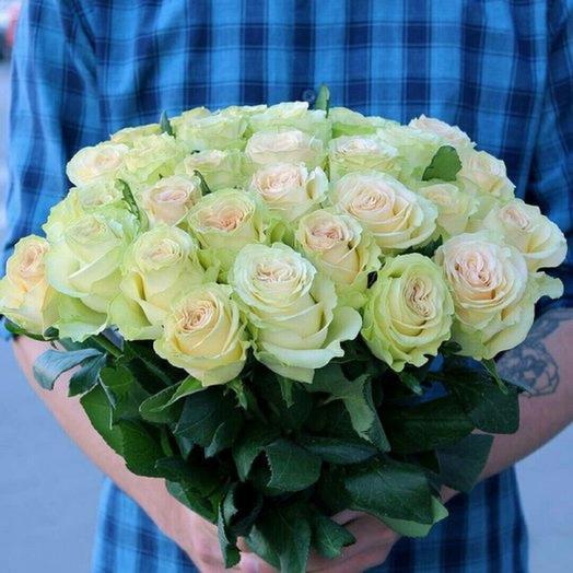 Букет роз из 25 шт: букеты цветов на заказ Flowwow