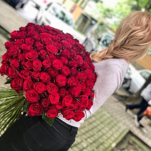 Роза 75 шт