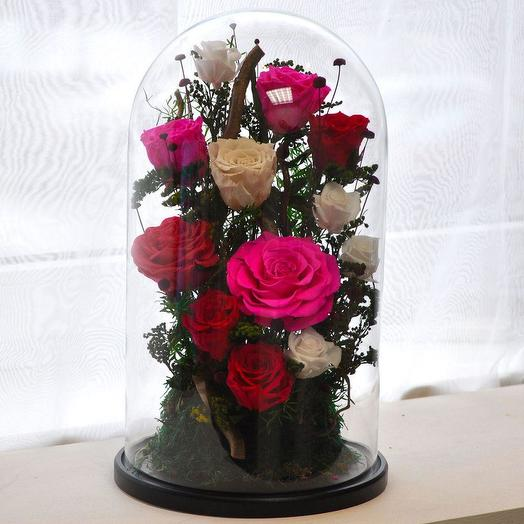"КОМПОЗИЦИЯ ""ДВЕНАДЦАТЬ МЕСЯЦЕВ"": букеты цветов на заказ Flowwow"