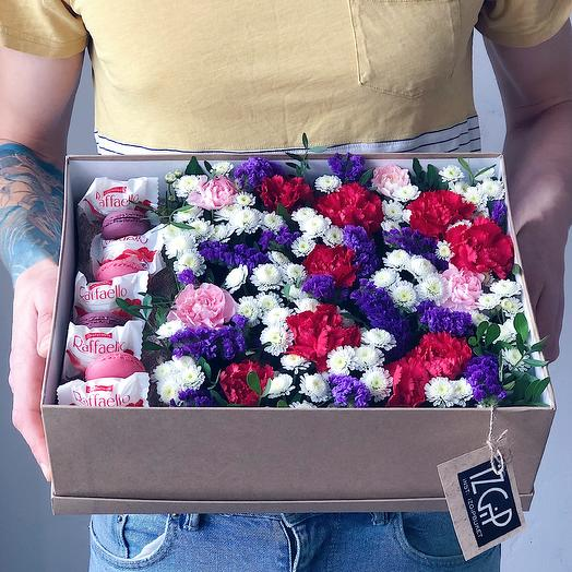 Box 3 Большой 1: букеты цветов на заказ Flowwow
