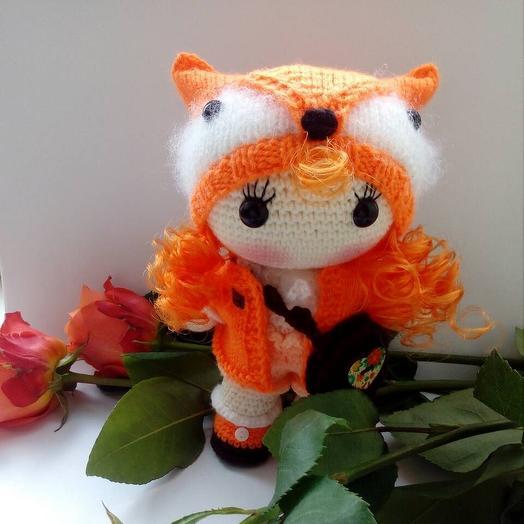 Кукла  Лисичка: букеты цветов на заказ Flowwow