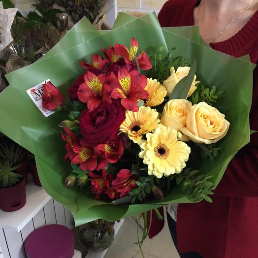 Бурбон 🐾: букеты цветов на заказ Flowwow