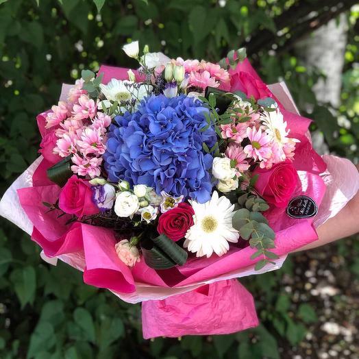 Красочный взрыв 💥: букеты цветов на заказ Flowwow