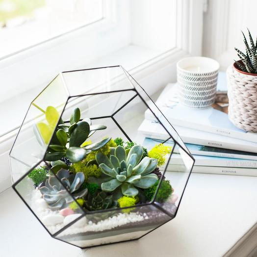 Усеченный октаэдр: букеты цветов на заказ Flowwow