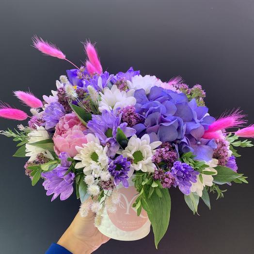 Радужный комплимент: букеты цветов на заказ Flowwow
