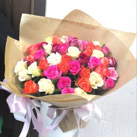 Букет Сказочный микс: букеты цветов на заказ Flowwow