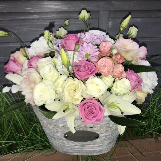 Трепетная любовь: букеты цветов на заказ Flowwow