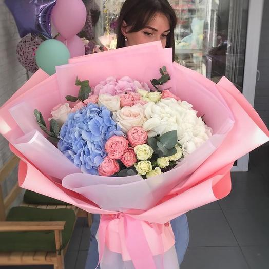 Огромный Зефирный Букетик: букеты цветов на заказ Flowwow