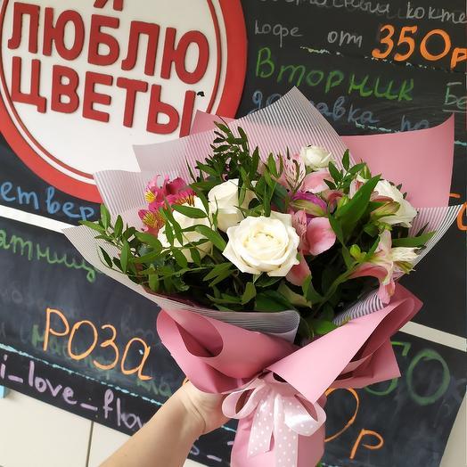 Пудряша: букеты цветов на заказ Flowwow