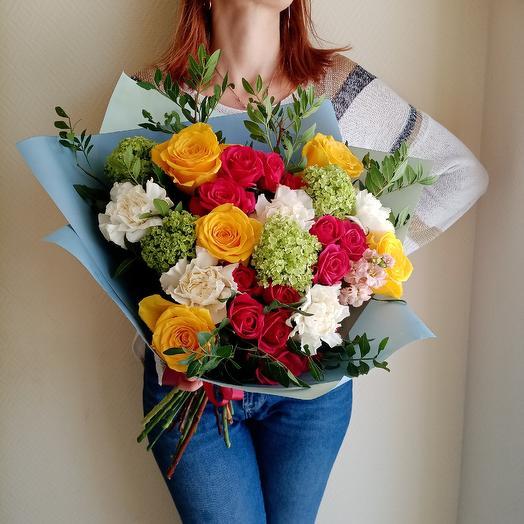 Готовый букет 4: букеты цветов на заказ Flowwow