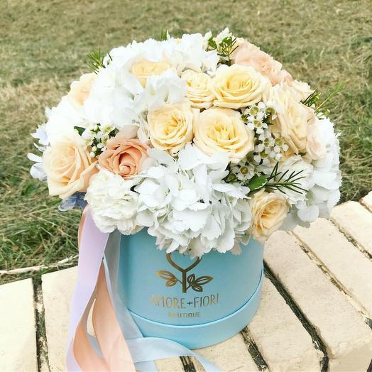 Шляпная коробка 31: букеты цветов на заказ Flowwow