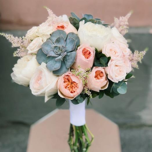 """Букет невесты """"Молодость"""": букеты цветов на заказ Flowwow"""