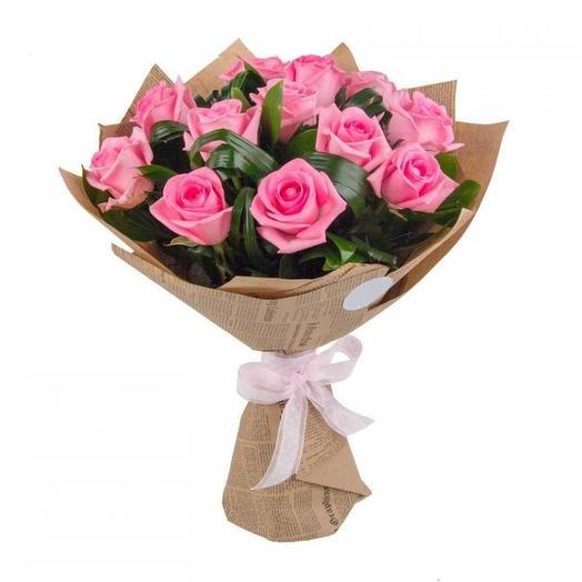 Букет 065: букеты цветов на заказ Flowwow