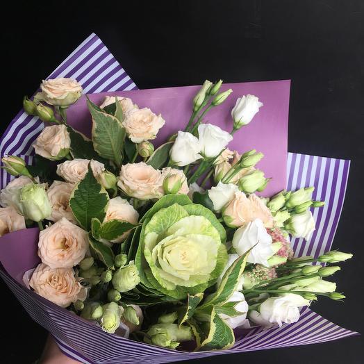 Нежный букет 2: букеты цветов на заказ Flowwow