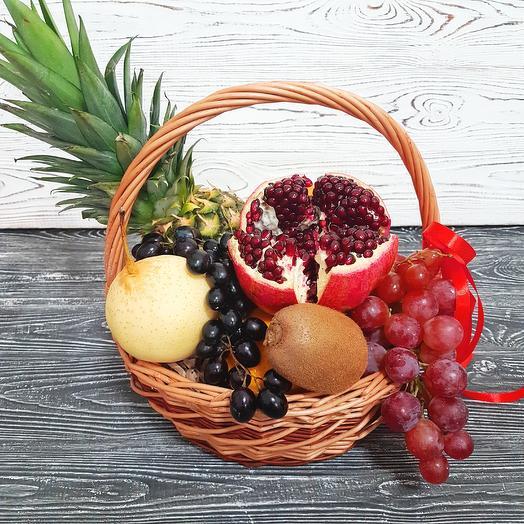Корзина с фруктами Midi 2: букеты цветов на заказ Flowwow