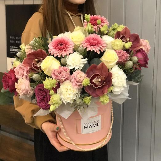 Композиция для Мамы: букеты цветов на заказ Flowwow