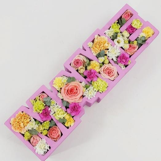 МАМЕ: цветочное слово: букеты цветов на заказ Flowwow