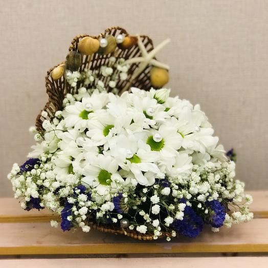 Д30 Морская жемчужина: букеты цветов на заказ Flowwow