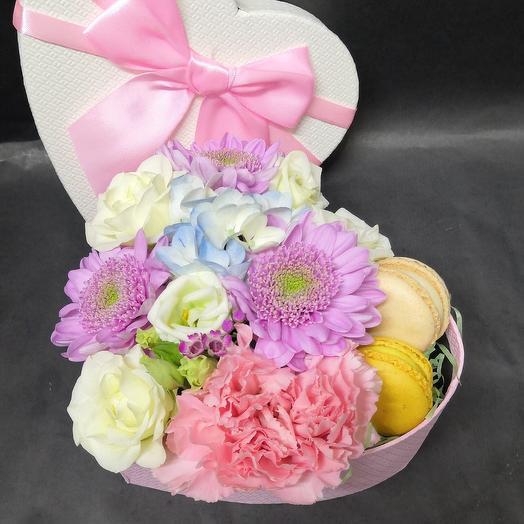Вкусный комплимент: букеты цветов на заказ Flowwow