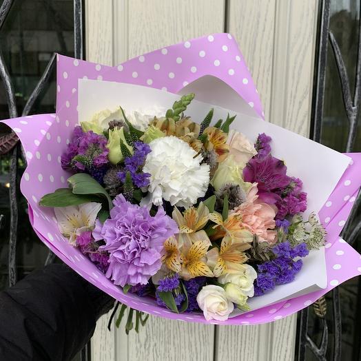 Весёлый привет: букеты цветов на заказ Flowwow