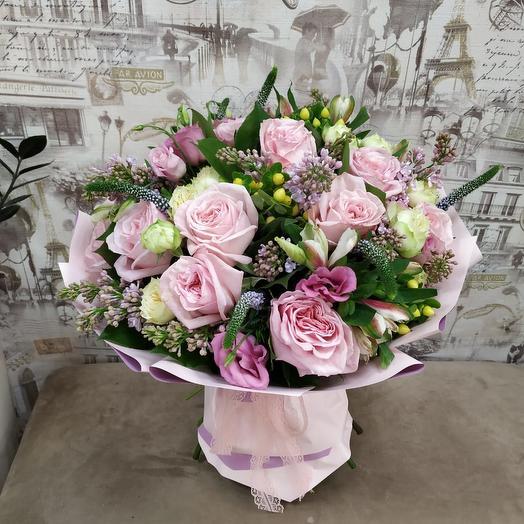 Авторский букет «Малика»: букеты цветов на заказ Flowwow