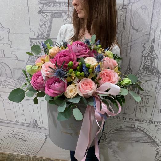 Цветы в коробке 202