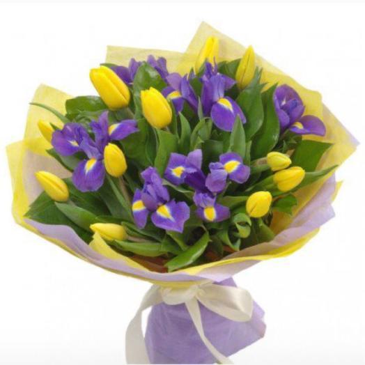 Ирисы и Тюльпаны
