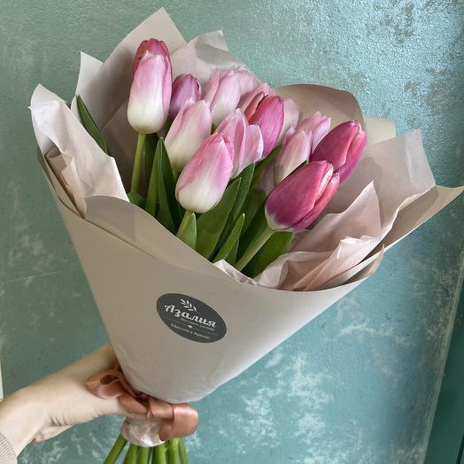 Букет Тюльпанов🌷: букеты цветов на заказ Flowwow