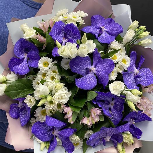 Багряный закат: букеты цветов на заказ Flowwow