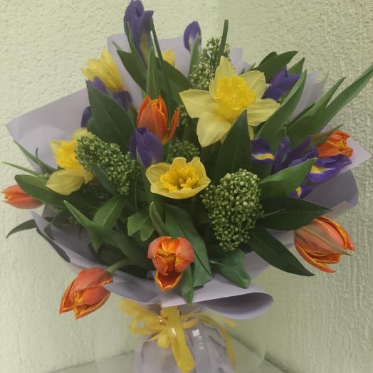 """Весенние нотки"" - ЛРМ: букеты цветов на заказ Flowwow"