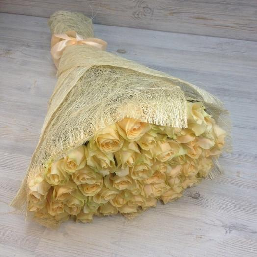 29-кремовая Роза