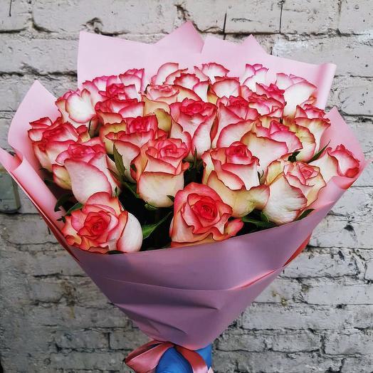 Букет роз Джумилия 51 шт: букеты цветов на заказ Flowwow