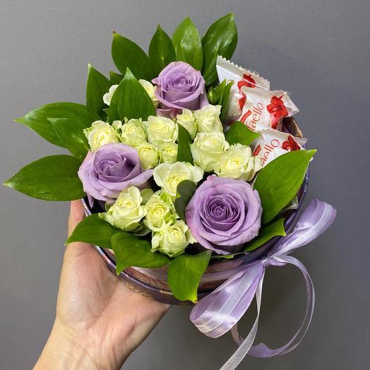 Лиловая нежность: букеты цветов на заказ Flowwow