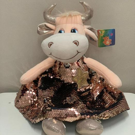 Коровка в платье