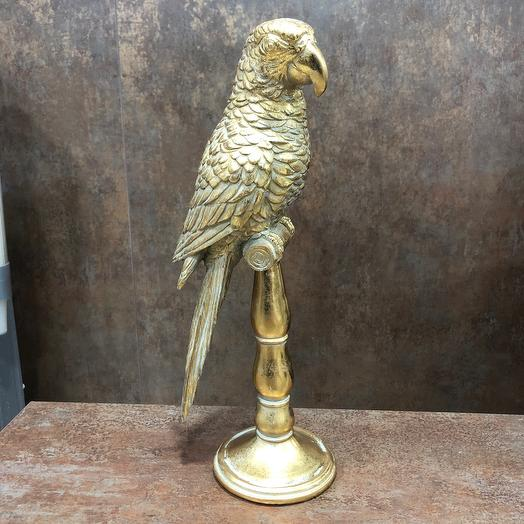 Попугай статуэтка