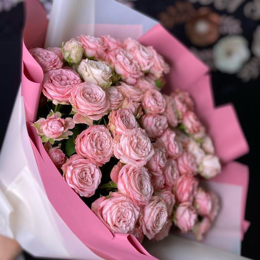 Розовые бомбочки