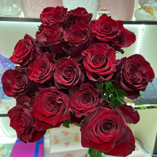 Роза эквадорская с вулканической пылью