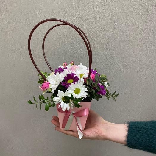 Цветы в сумочке «Мини»