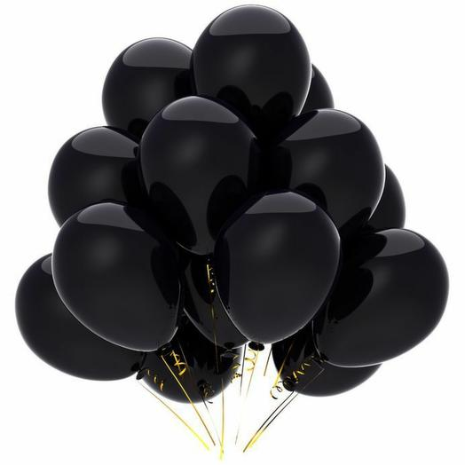 Rosalina Чёрный шар с гелием