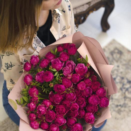 Кустовые розы Рич
