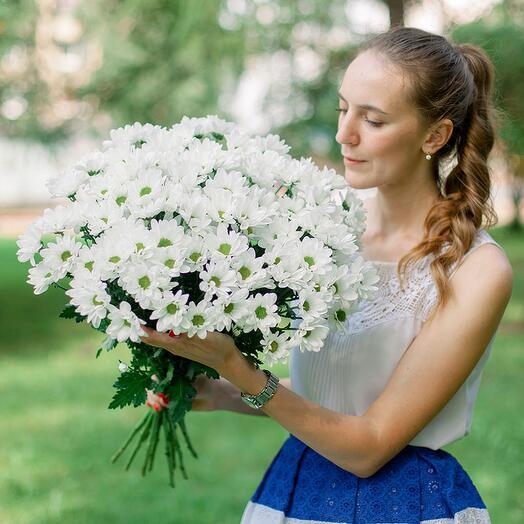 15 веточных хризантем