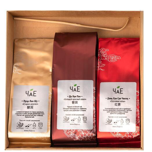 """Чайный набор """"Китайский черный чай в подарочной упаковке"""""""