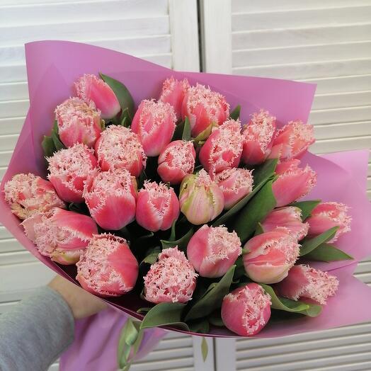 Охапка ароматных тюльпанов 🤩