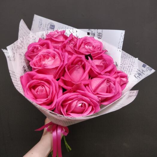 Малиновые розы 💕💕💕