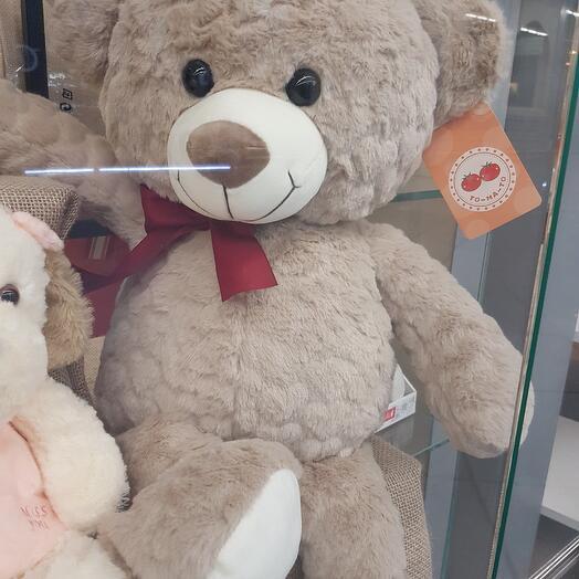 Медведь с бантом