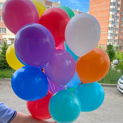 20 гелевых шаров