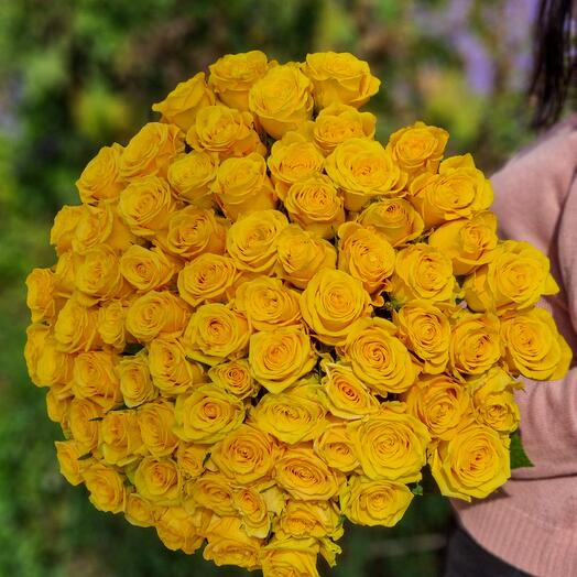 Роза Эквадор 80 см 75 шт