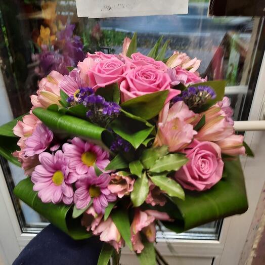 Букет «Розовая Шкатулка»